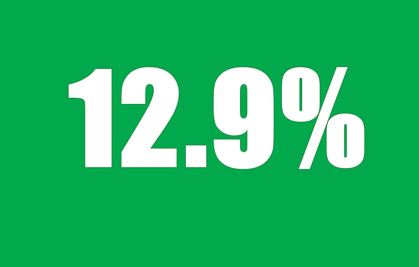 Тариф от 12,9% в Сбербанке при рефинансировании