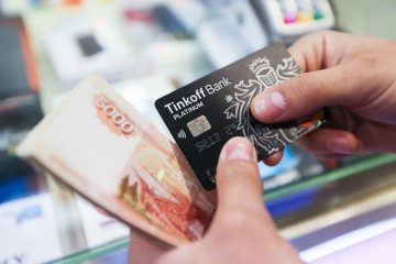 пополнения валютной карты Тинькофф Банка
